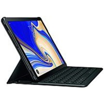 Samsung Keyboard/Cover Case (Book Fold) for Samsung 10.5 Tablet - Black - Textur - $115.97