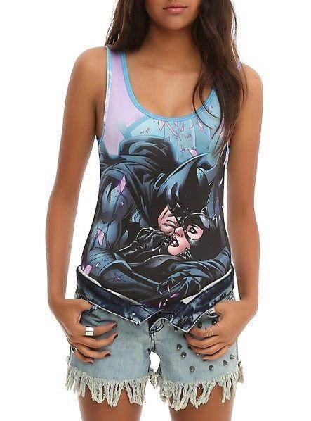 4ffc862221e DC Comics Batman Catwoman Bodysuit Tank Top and 50 similar items