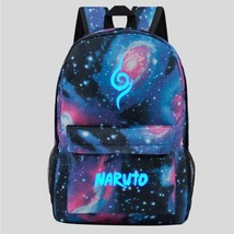 Naruto Luminous Theme Backpack Schoolbag Daypack Bookbag Starry Sky - $25.99