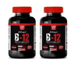 mood booster anxiety killer - METHYLCOBALAMIN B-12 - natural energy boost 2 BOTT - $28.01