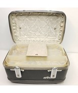 Vintage American Tourister Cosmetic Makeup Overnight Hard Train Case Blue   - $98.95