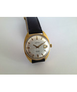 Vintage Henri SANDOZ & Fils 25J Cal.905 Automatic Gold Plated Swiss Watch - $101.17