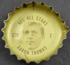 Vintage Coca Cola NFL All Stars Bottle Cap New York Giants Aaron Thomas ... - $4.94