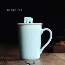 Chinese Longquan Celadon Gaiwan China Teacups Saucer Tea Bowl 360ml By N... - $143.65