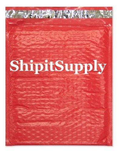 1-500 #0 6x10 Poly ( Red ) Color Bubble Padded Mailers Fast Shipping