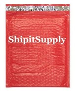 1-500 #0 6x10 Poly ( Red ) Color Bubble Padded Mailers  - $2.96+
