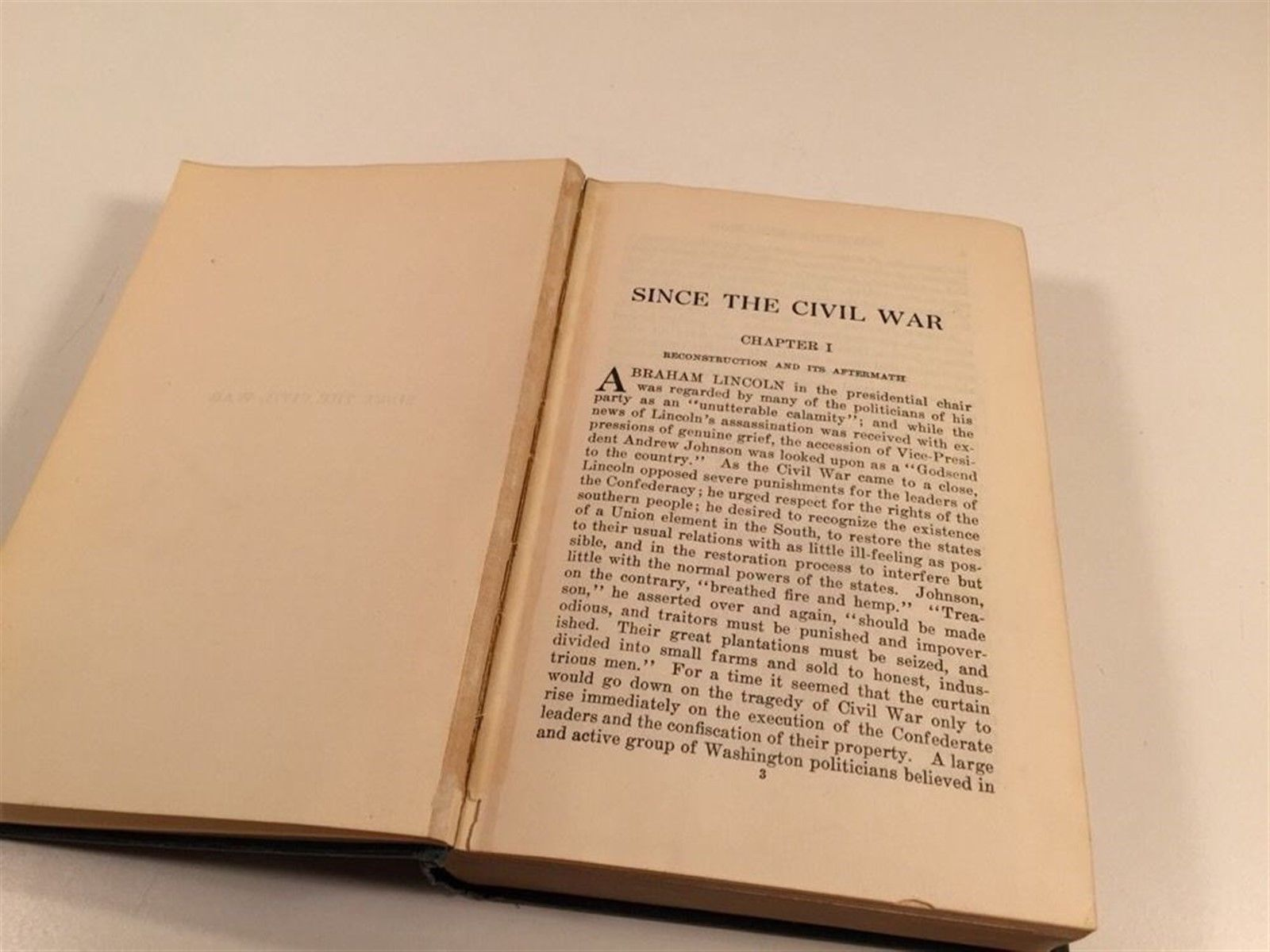 Since The Civil War - 1926 - Charles Ramsdell Lingley - Hardcover