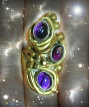 HAUNTED ANTIQUE RING MASTER WITCH'S VANISHING POWER MAKE IT DISAPPEAR MA... - $7,997.77