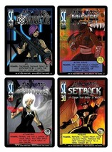 Dark Watch Promo Cards NM Sentinels of the Multiverse (SOTM) Card Game b... - $40.00