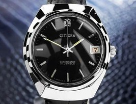 Citizen Acciaio Inox Vintage Raro Giapponese Manuale Watch con Data 1970... - $1,103.23 CAD