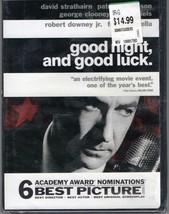 """DVD""""GOOD NIGHTAND GOOD LUCK""""Robert Downey Jr. Best Picture 2006 - $1.95"""