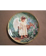 AN ANGEL'S LOVE collector plate DONA GELSINGER Garden Blessings CHILD AN... - $24.99