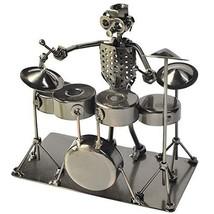 Drummer Metal Figurine 7 in - $31.46