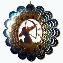 "Archer Wind Spinner New Zephyr Spiral 12"" Steel Birds Archery  - $25.73"