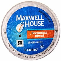 Maxwell House Breakfast Blend Coffee, K-CUP Pods, 84 Count - $37.81