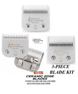 MGT PRO Edge CERAMIC 10,7FC,4FC BLADE KIT Fit Oster A5,Many Andis,Wahl C... - $94.49