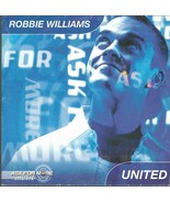 ROBBIE WILLIAMS - UNITED 2000 EU 'ASK FOR ME' PROMO ENHANCED CD CARD SLEEVE - $12.96