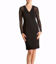 NWT CALVIN KLEIN BLACK MESH SHEATH DRESS SIZE 14 $129 - $39.99