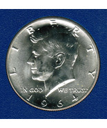 1964 D Silver Kennedy Half Dollar Combined Shipping CP2001 - $11.75
