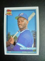 Nice 1991 Topps Mark Whiten Card #588 - $9.90