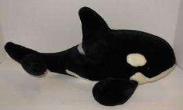 "Vintage Sea World Theme Park Exclusive Shamu 12"" Plush Toy Killer whale - $23.20"