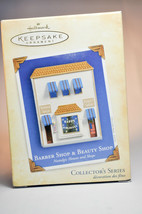 Hallmark: Barber & Beauty Shop - Nostalgic Houses & Shops - Series 21st ... - $16.62