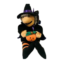 Preferred Plush Vintage  Witch Halloween Plays Monster Mash Interactive ... - $16.82