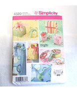 Simplicity pattern fabric boxes thumbtall