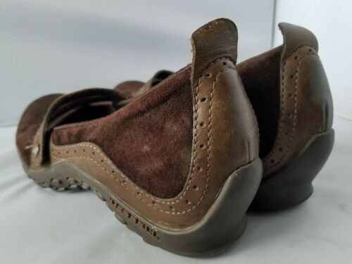 Merrell Performance Plaza Bandeau Chocolate Brown Mary Janes Ortholite Shoes 8 image 10