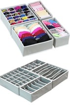 Underwear Organizer Drawer Divider Closet Storage Socks Bra Set Box 4 Se... - $25.43