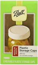 Ball Regular Mouth Jar Storage Caps Set of 8 Regular x2 - $16.27