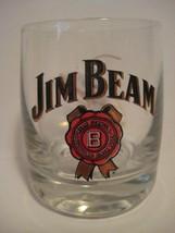"Original Vintage JIM BEAM Shot Glass 2.25X1.75""  Signed by Dario Franchi... - $12.52"