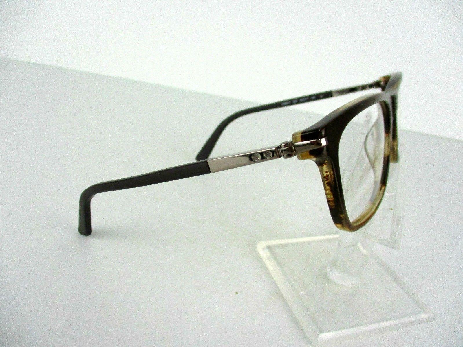 Calvin Klein CK 8517 (237) Amber Horn 53 X 17 140 mm Eyeglass Frame