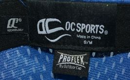 OC Sports Pro Flex 6 Panel Premium Jersey Mesh Stretch Fit Sm Med Baseball Hat image 8