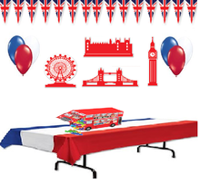 British Party Decorations - $22.25