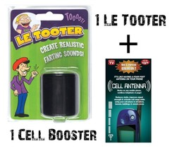 The Original LE TOOTER pooter + 1 CELL BOOSTER FREE - $26.97