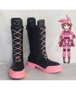 SAO Alternative GGO Kohiruimaki Karen LLENN Cosplay Boots for Sale - $60.00