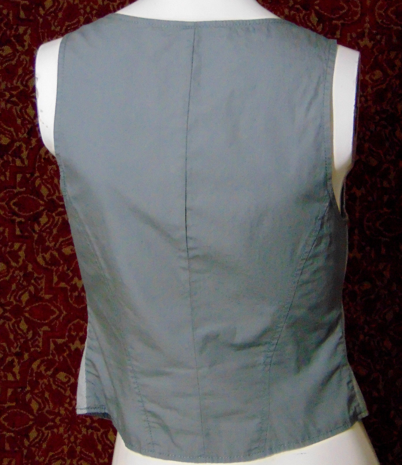 AMERICAN EAGLE OUTFITTERS gray cotton vest S/P (T49-02B8G)