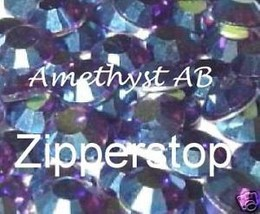 72 Swarovski Crystal Rhinestones ~ 30ss ~ Amethyst AB - $17.81