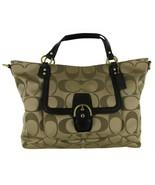 Coach 25290 Campbell Izzy Signature Print Women's Handbag Brown - $420.75