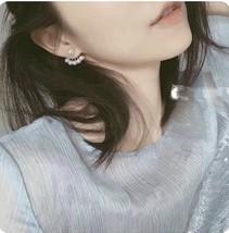 "Authentic Christian Dior ""LA PETITE TRIBALE"" EARRINGS CD Logo Multi Pearl 2019 image 7"