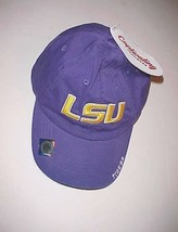 LSU Tigers Football NCAA SEC Adult Unisex Purple Yellow Baseball Cap 1 S... - $21.77