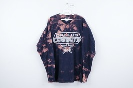 Vintage Lee Sport Mens XL Dallas Cowboys Spell Out Acid Wash Long Sleeve... - $49.45