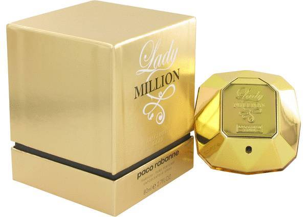 Paco RabanneLady Million Absolutely Gold 2.7 Oz Pure Perfume Spray