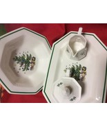 NIKKO CHRISTMASTIME NEW IN BOX COMPLETER SET 5 PIECE SET  - $89.09