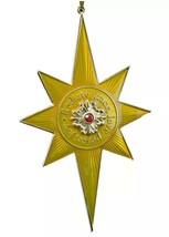 HALLMARK Keepsake 2016 STAR OF BETHLEHEM  Premium Ornament NEW FREE SHIP... - $34.95