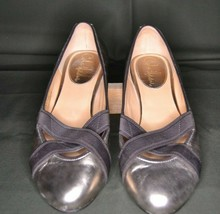 Cole Haan Women's Air Lyric Ballet Flats Size 6B Ginger Metallic Leather - $29.70