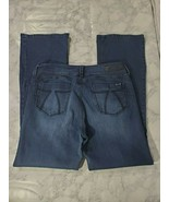 Seven7 Jeans 12 Womens Mid Rise Bootcut Dark Wash Denim Casual - $29.69