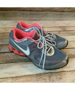 NIKE REAX RUN 7 Womens Running Shoes Size 8.5 Charcoal Gray Orange Color. - $19.80