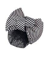 2PCS Ladies Bow Barrette Hair Clip Snood Net Bun Cover, E - $18.75